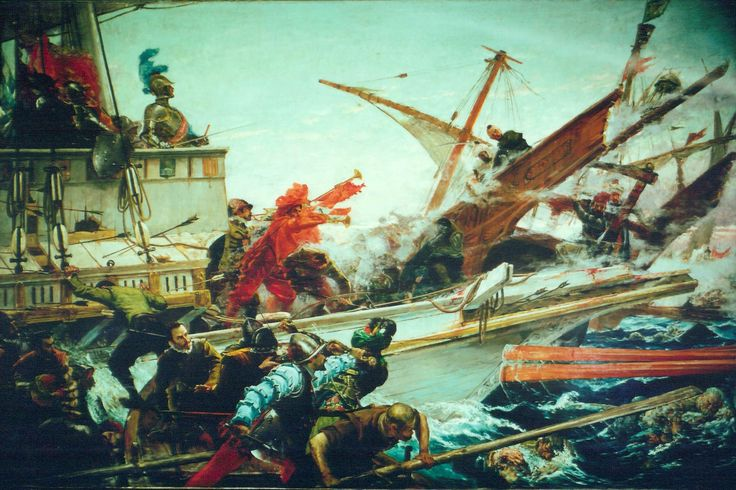 Battle of Lepanto - Wikipedia