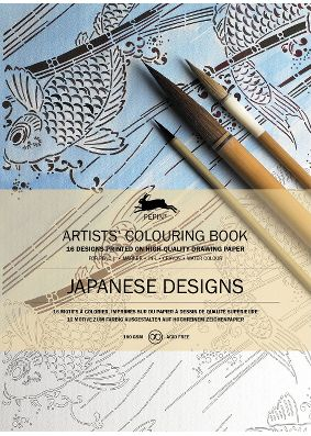 Pepin Press Colouring Book - Japanese Designs