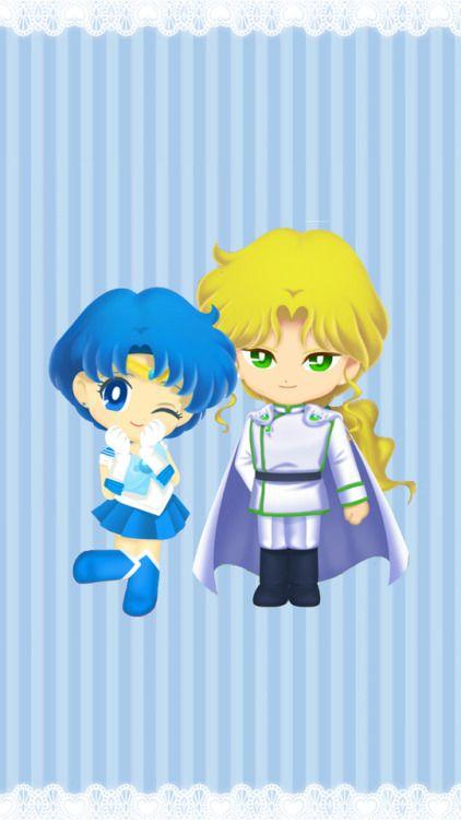 Zoisite & Mercury (Sailor Moon Drops)