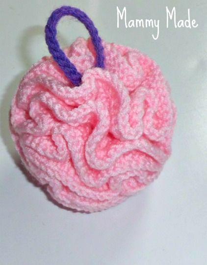 Crochet Bath Puff and Soap Bag ~ free pattern