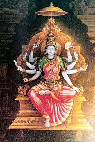Sri Kalikadevi by Shilpi Sri Siddalingaswamy of Mysore:
