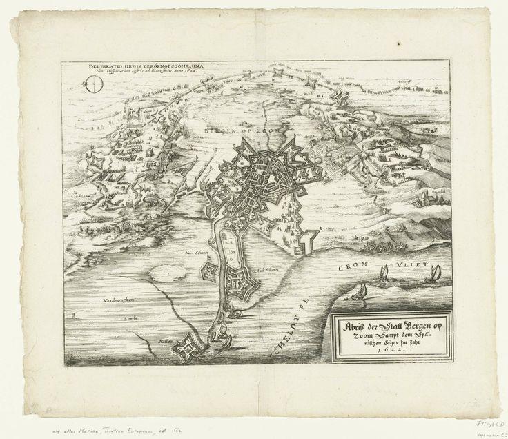 Beleg van Bergen op Zoom, 1622, anoniem, 1622