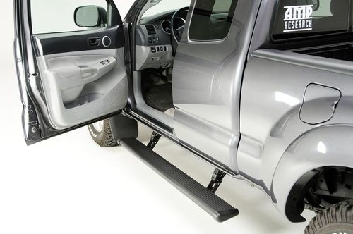 Add to Cart for Price! AMP Research PowerStep 2005-2015 Toyota Tacoma Double & Access Cab 75142-01A Black