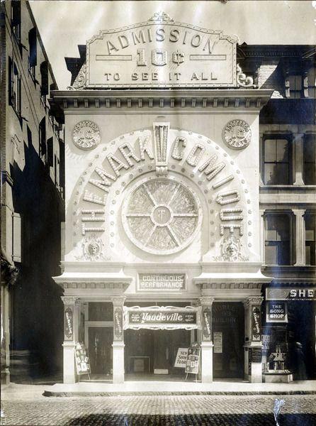 NOBLE Digital Heritage Theatre Comique. 95 Monroe Street. lynn mass
