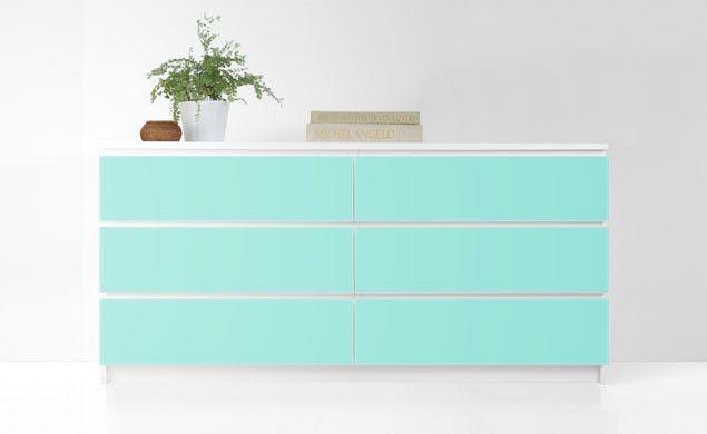 Reface your IKEA Malm dresser // PANYL for IKEA Malm Dresser #DIY