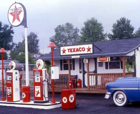 gas station ads 84 best old gas stations images on pinterest gas station old