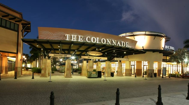 The Colonade - Designers outlets at Sawgrass Mill Mall (Sunrise, Florida). Got some great items!