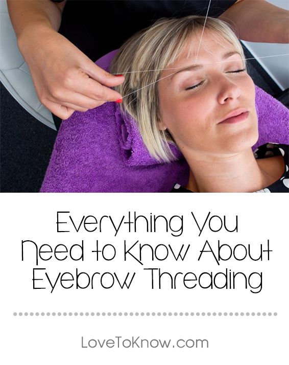 "If you're asking, ""What is eyebrow threading?"" you may be about to find your new hair removal technique. The depilation method is growing in popularity, but it isn't for everyone. 