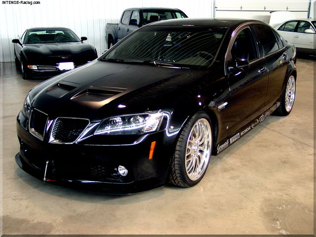 JR Granatelli's 2008 Pontiac G8 competed in the 2008 #OUSCI
