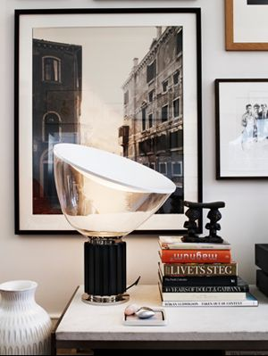 "Flos, ""Taccia Lamp"" by Achille Castiglioni, it was for the first time produced in 1962"