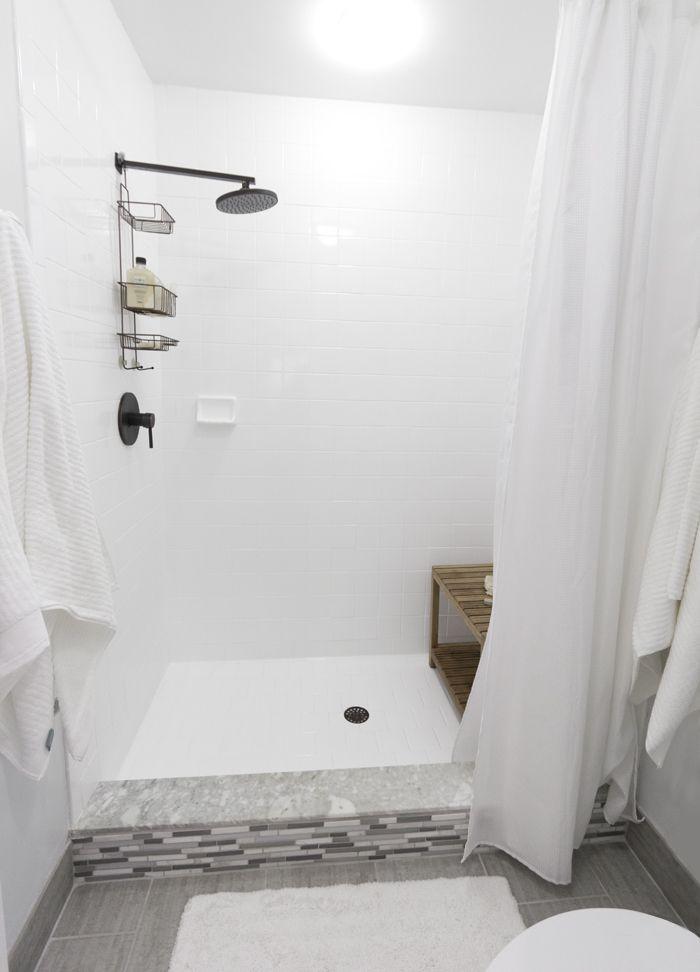 Jenna Sue: Florida House - Shower headOpen Shower, Design School, Bathroom Inspiration, Shower Heads, Florida House, Master Bathrooms, Master Baths, Bathroom Showers, Jenna Sue