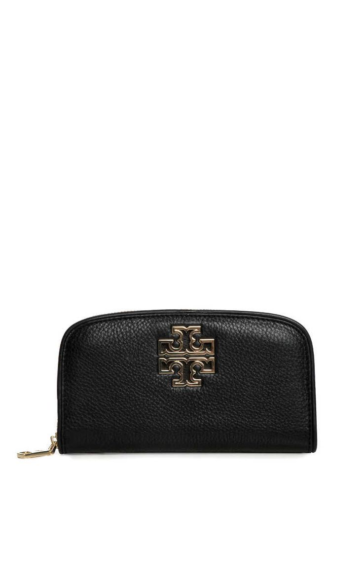 Plånbok Britten Zip BLACK - Tory Burch - Designers - Raglady