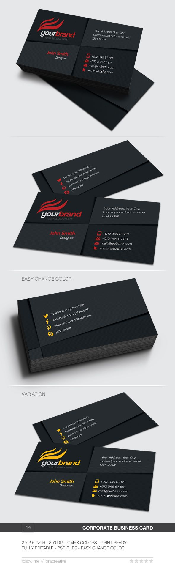 37 best free business card templates images on pinterest free