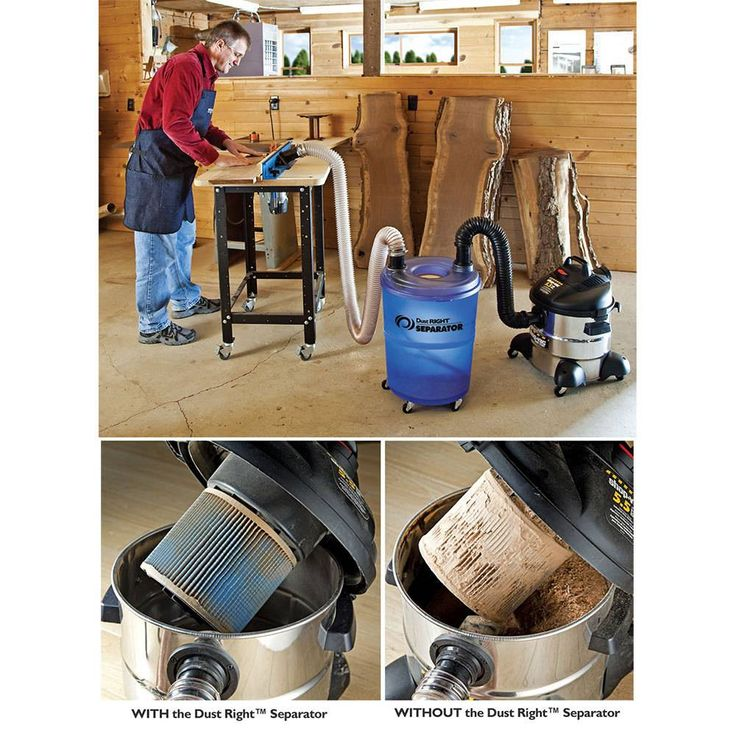 Dust collection on Pinterest