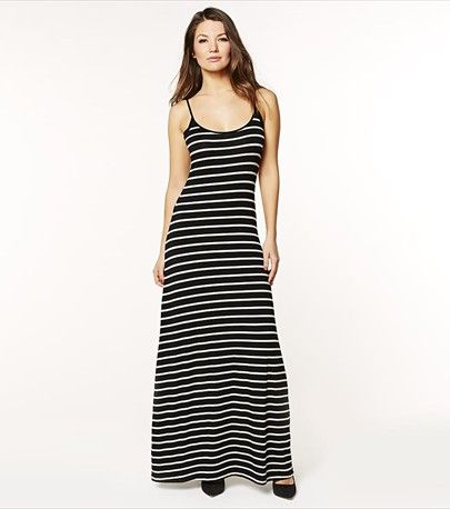 This striped maxi dress is a must-have for those sunny days.