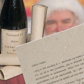 Julemandens Flaskepost - en personlig børnebog...