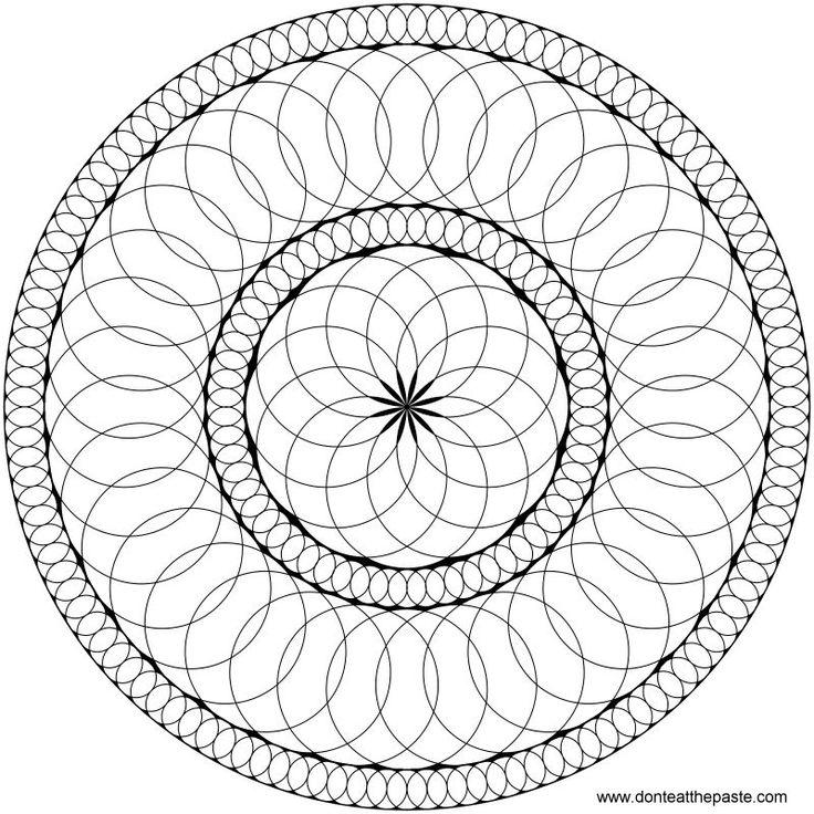 17 Best ideas about Circle Mandala