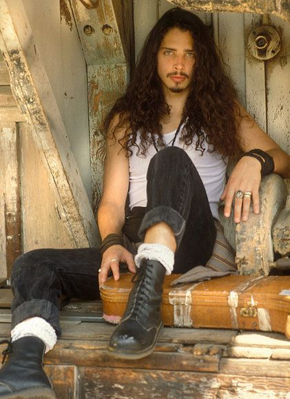 I had such a crush on Chris from Soundgarden when I was in high school. The man has become finer with age.