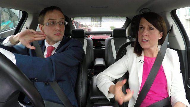 Labour leadership: Liz Kendall car share - BBC News