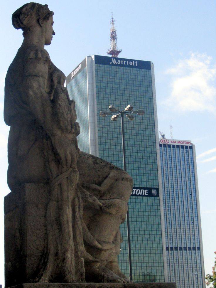 warsaw- new town