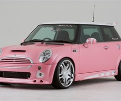 36 best pink mini cooper images on pinterest pink mini coopers pink cars and dream cars. Black Bedroom Furniture Sets. Home Design Ideas
