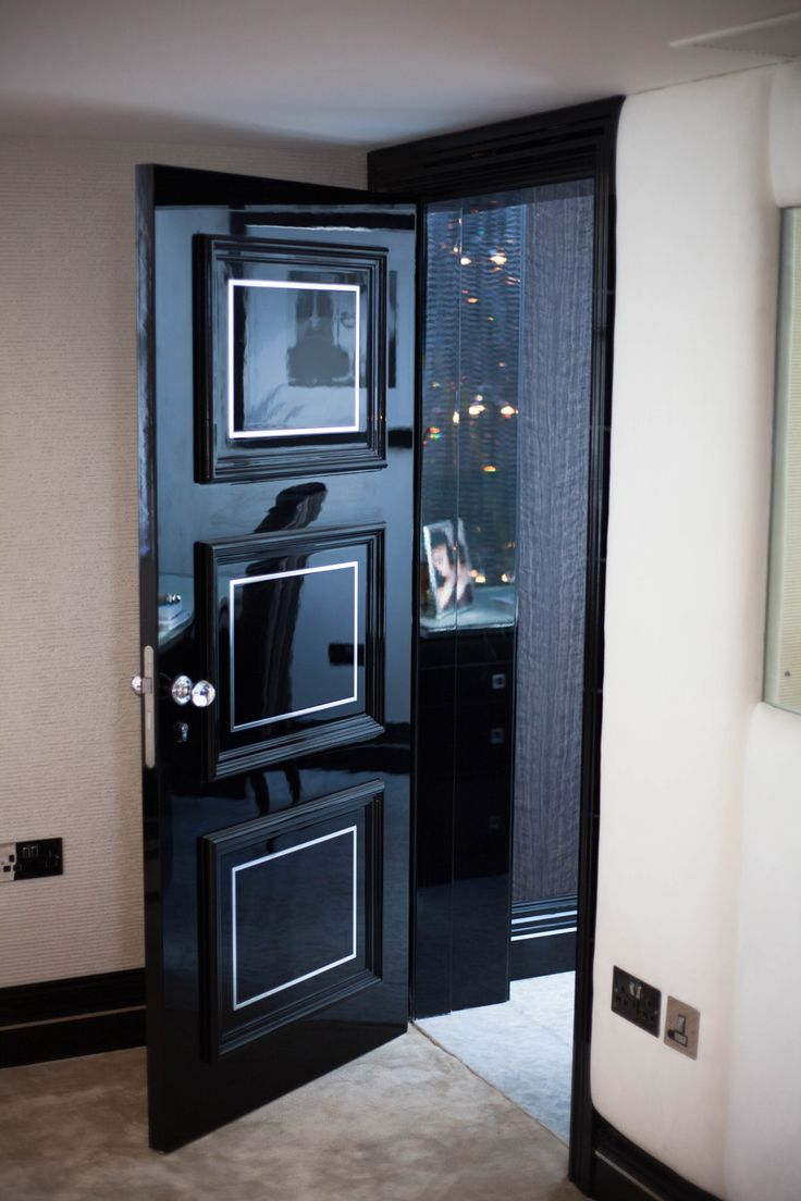 ALP - Classic High Gloss with Polished Inlays - Solid Wooden Doors & 10 best High Gloss Door with Metal inlays images on Pinterest ... pezcame.com