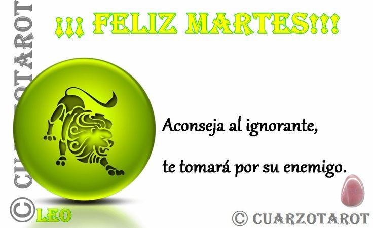 Leo Martes 19 de Abril, 2016  LEO #FelizMartes, hoy te tienes que poner las pilas y ser resolutivo, que no decaiga la ilusión de poner al día proyectos atrasados, buena jornada.