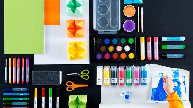 Un espace où les enfants laisseraient libre court à leur créativité ? On est pour ! Répertoriés « ateliers d'artistes en herbe », les inspirations ...