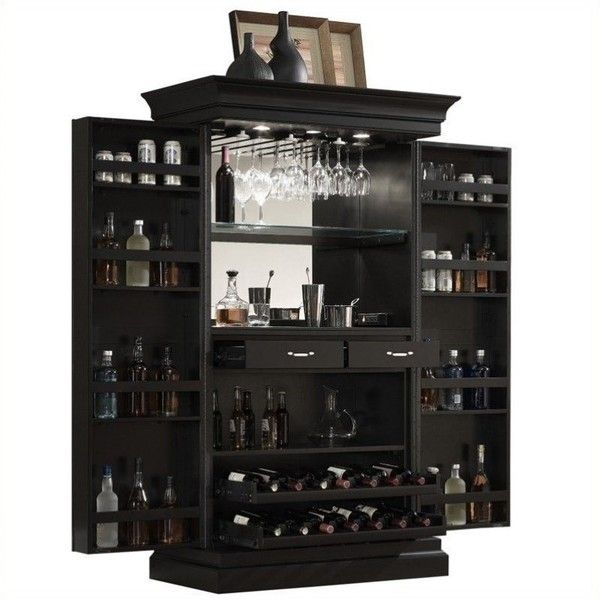 Black Home Bar Furniture: Best 25+ Locking Liquor Cabinet Ideas On Pinterest