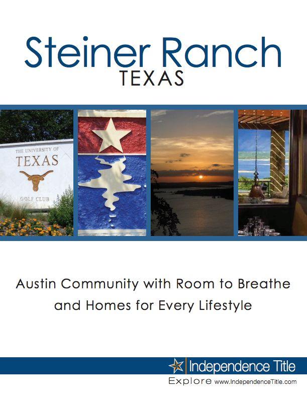 17 Best Images About Steiner Ranch Austin Tx On
