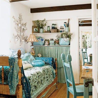 Shabby Chic Home Decor / Gypsy Purple home......