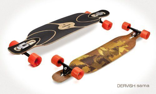 Loaded Dervish Sama Flex 2 Complete Longboard Skateboard W/ Paris Adam Colton Trucks, Orangatang Wheels by Loaded. $289.95. The rebirth of a classic! Finally the Loaded Dervish Sama is here! The Dervish Sama has all the things you love about its predecessor with a few new twists that make it an amazing new board. The Dervish Sama is a fun and flexy board that will give you an awesome surfy feel. Before we talk about the new added features lets get the basics down first!  Th...