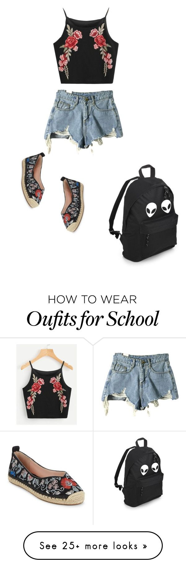 """""""Untitled #4974"""" by prettyroses on Polyvore featuring Avec Les Filles"""