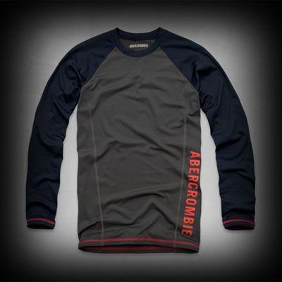 アバクロ メンズ Tシャツ Abercrombie&Fitch A&F Rash Guard ラッシュガード ★アバクロ 日本で販売されていない海外限定の入手困難なアイテム!アメカジファッションでは大人気なAbercrombie&Fitch。 ★ヴィンテージウォッシュがコーディネイトしやすくてシュノーケルには最適です。