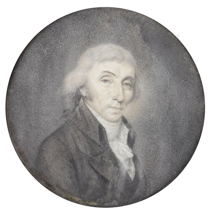 """Portrait of French statesman Joseph Fouché"" 1795/1800"