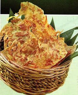 resep masakan REMPEYEK REBON (JAWA BARAT)