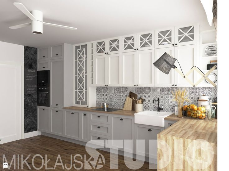 rural kitchen design - zdjęcie od MIKOŁAJSKAstudio - Kuchnia - Styl Rustykalny - MIKOŁAJSKAstudio