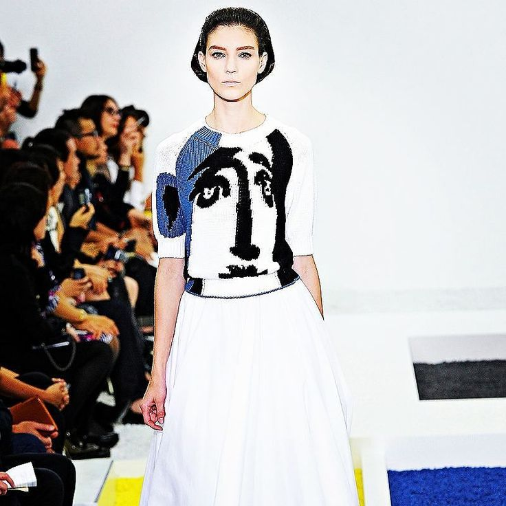 Art in #jilsander #fashion #style #catwalk #loveart #inspiration #collection #picasso  #instagood