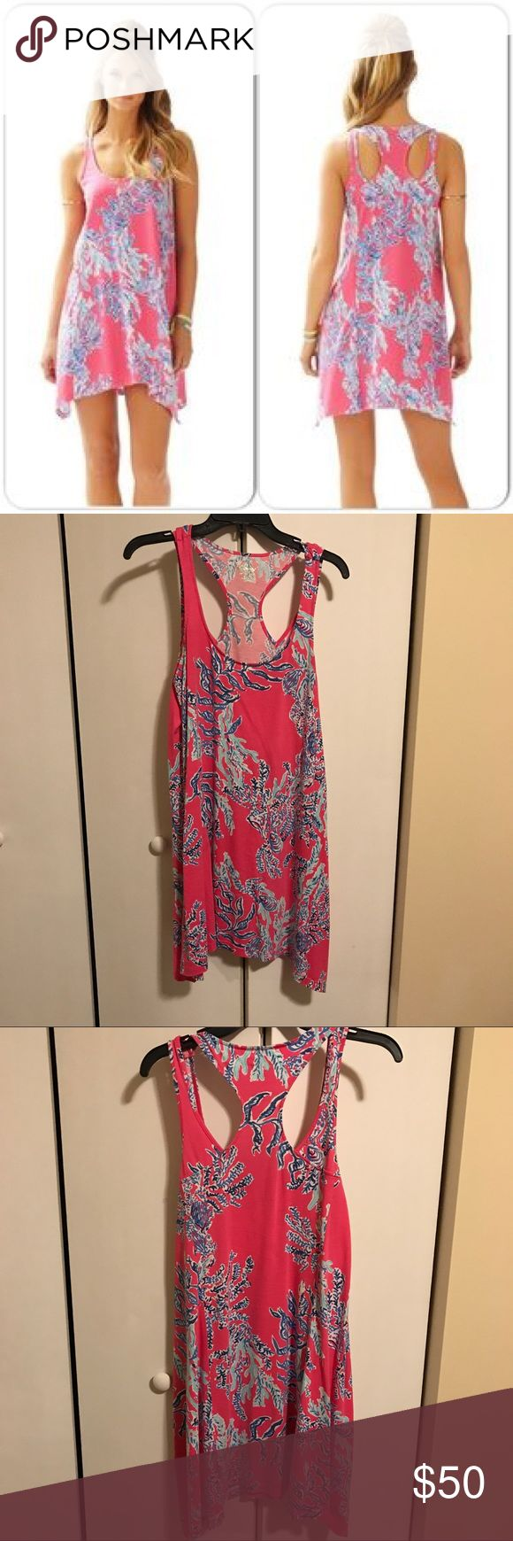 Lilly Pulitzer Monterey dress Lilly Pulitzer Monterey dress in size Small. Cotton swing dress. In excellent condition! Only worn a few times. Lilly Pulitzer Dresses