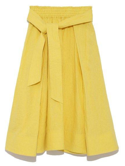 リネンフレアスカート(フレアスカート)|Mila Owen(ミラ オーウェン)|ファッション通販|ウサギオンライン公式通販サイト