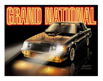 16x20 - 1987 Grand National Giclee Print