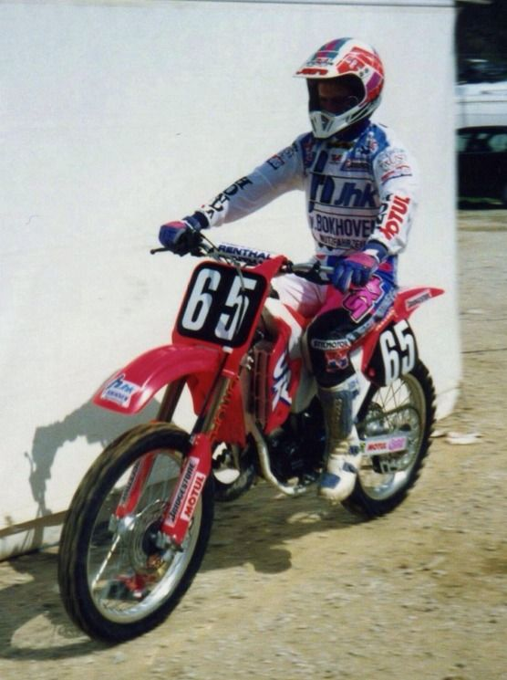 Dave Strijbos won 2 GP's in 1992