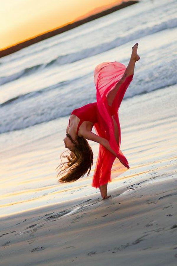 tenue de danse moderne, on danse partout