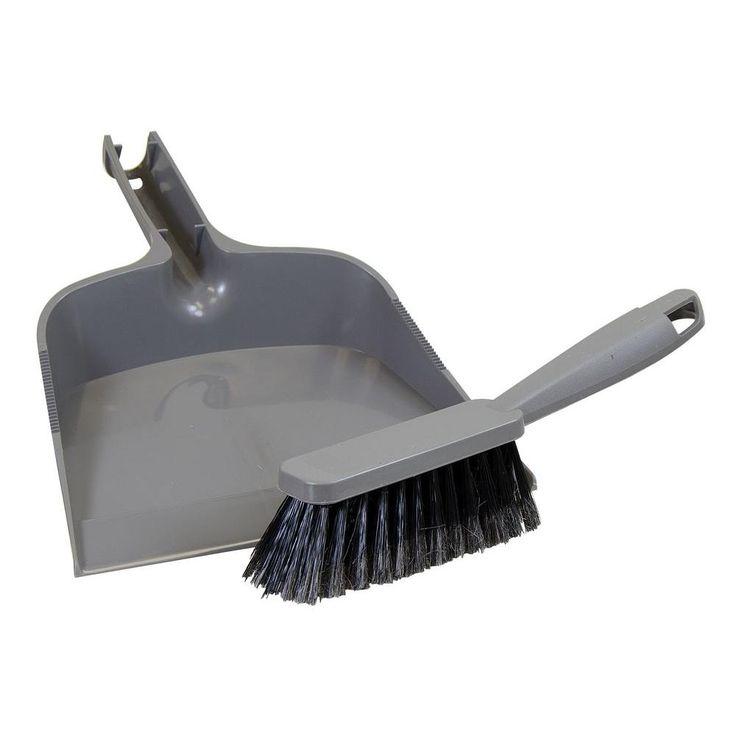 HDX Dustpan and Brush Set