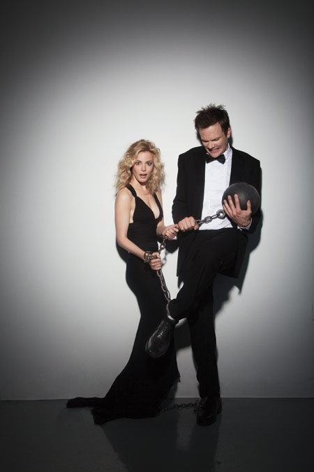 Joel McHale & Gillian Jacobs ( Jeff and Britta) Community x