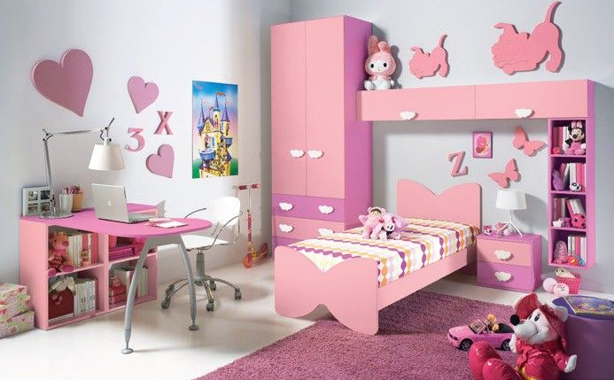 dormitorios modernos para las princesas del hogar para