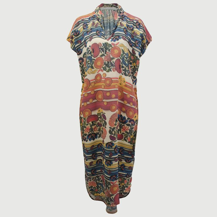 Print Viscose Dress Tuilleries