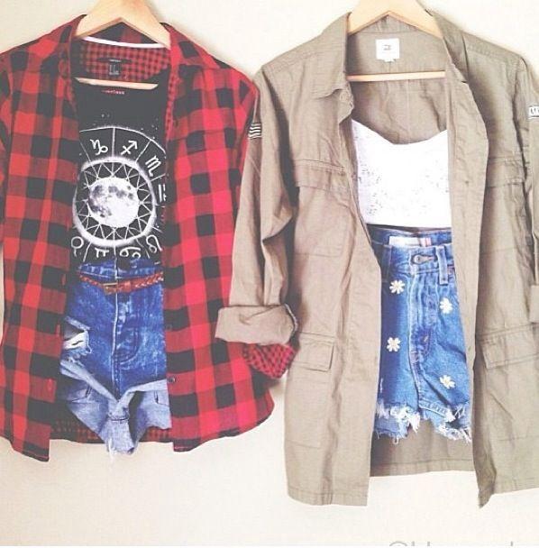 Flannels... because every closet needs them!