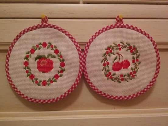Presine alla mela e alla ciliegia