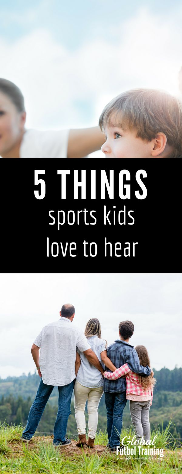 My mom was always positive growing up and never discouraged me. It made a positive impact on my life and on my athletic training, and it's something I bring to my kids too. When it comes to childhood mindset, negative outweighs the positive in most things, so speaking positive over our kids is a MUST! Here are the 5 most powerful things you can tell your kids to keep them positive, confident, and happy in life and in athletics.